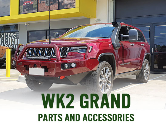 WK2 Grand Cherokee parts and accessories, now in stock!