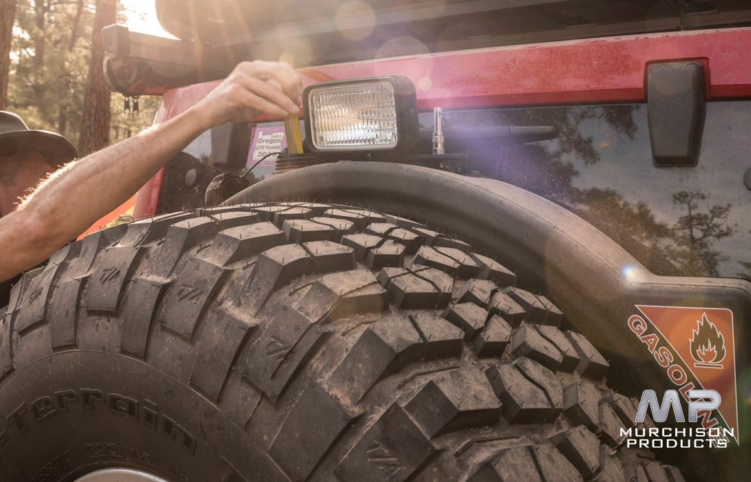 AEV JK Wrangler Fuel Caddy, for AEV JK Tyre Carrier