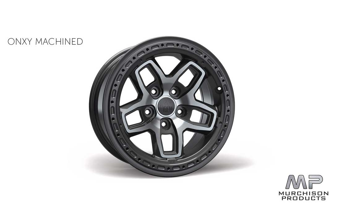 AEV JL Wrangler Bora Wheel Onyx Machined