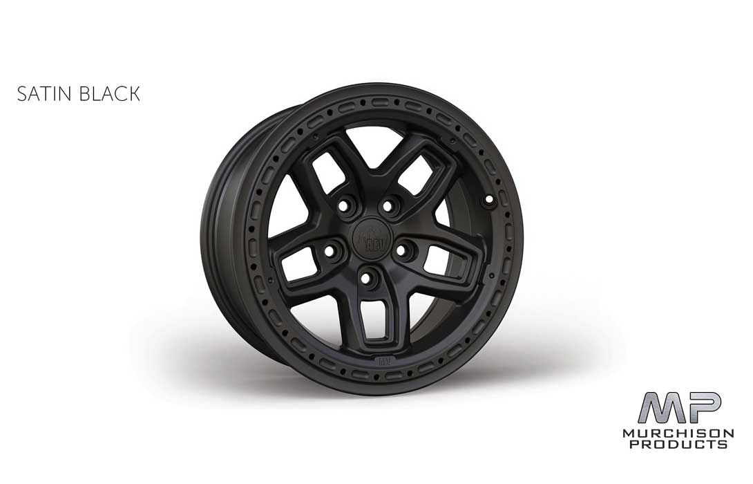AEV JL Wrangler Bora Wheel Galaxy Black