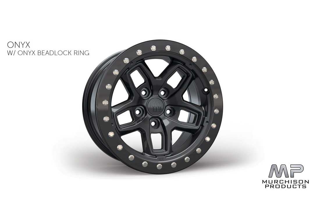 AEV JL Wrangler Bora Wheel Onyx w/ Onyx Protection Ring