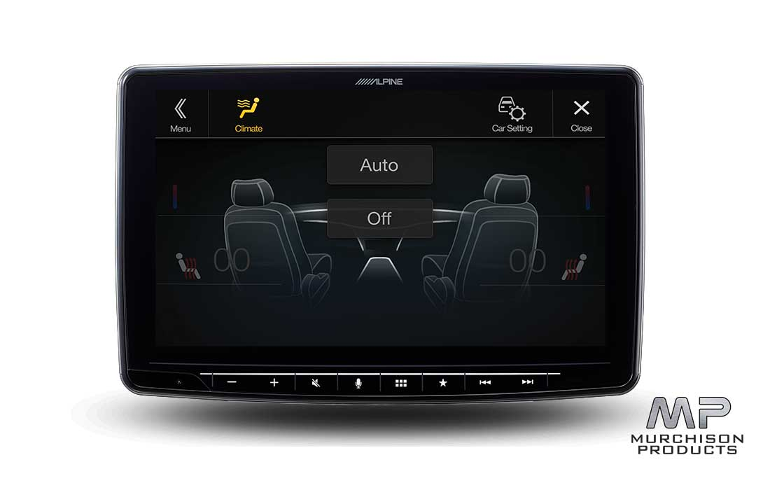 "Alpine iLX-F309E 9"" Touch Screen Media Centre + Install"