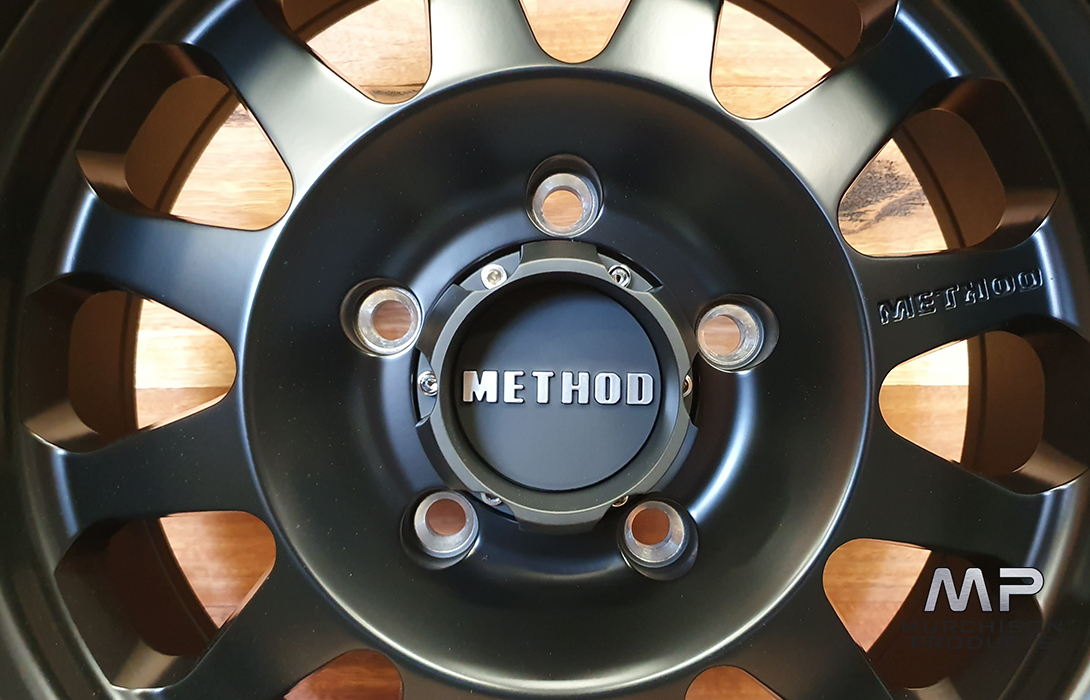 Method 304 Double Standard - Ram 1500 DT - 18x9 - Black