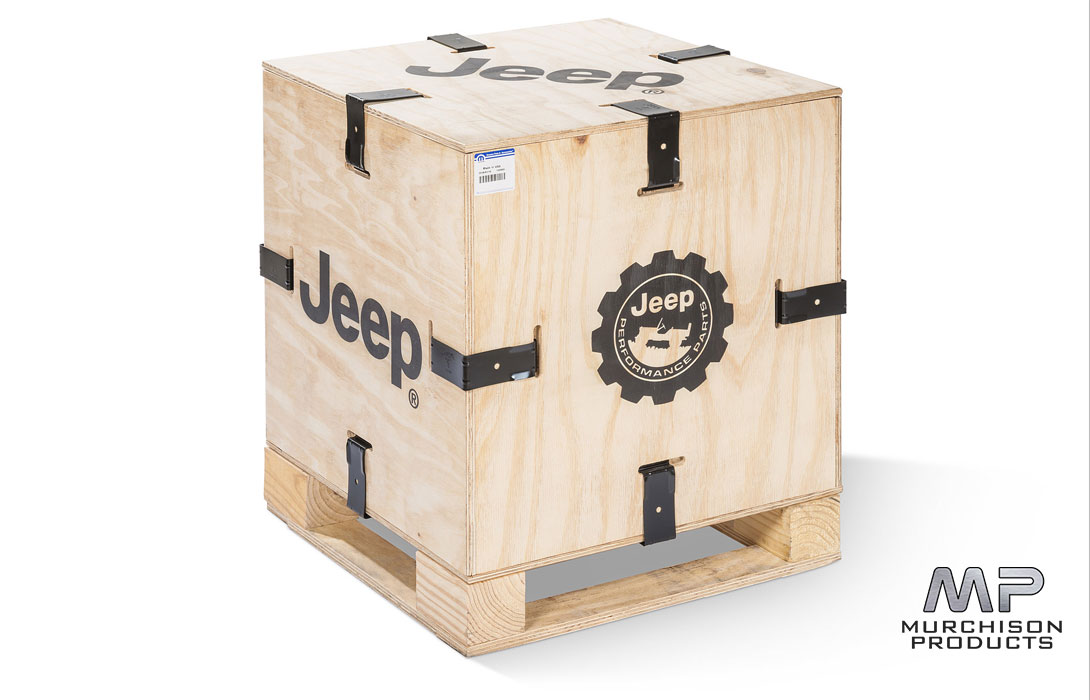 """Mopar JL Wrangler 2"""" Suspension Kit - If you get it installed at our workshop, you get to keep this box!"""
