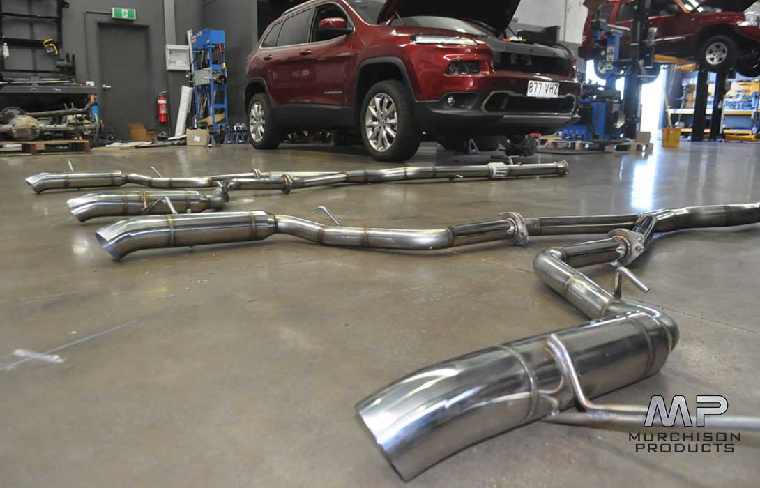 "Murchison WK2 Grand Cherokee 3"" Exhaust"