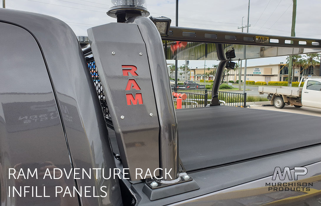 Murchison Ram Adventure Rack with Cover Plates
