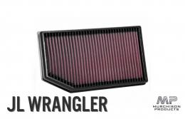 K&N Air Filter, JL Wrangler and Gladiator 3.6L Petrol