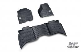 Mopar Ram 1500 Express All Weather Mats Bucket Style Quad Cab Black