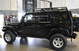 Uneek JK Wrangler Roof Rack, 4 Door