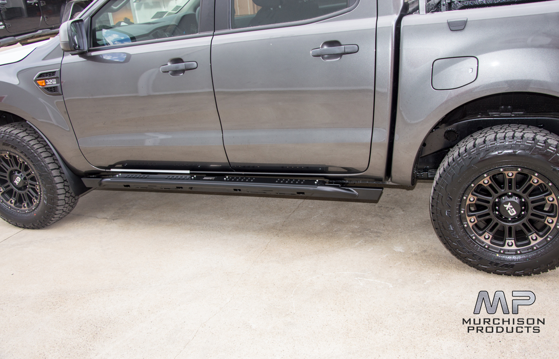 Uneek 4x4 Ford Ranger Dual Cab Rock Sliders