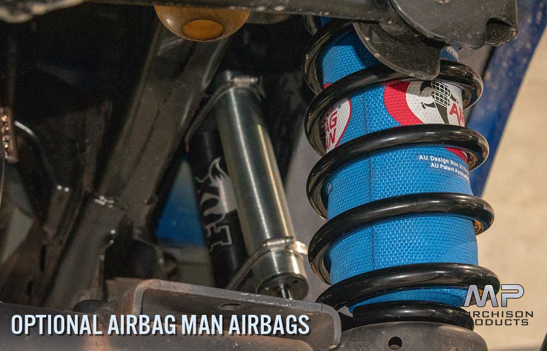 """Murchison Ram 1500 3"""" Fox Coilover Suspension Kit - With Airbag Man Airbag"""