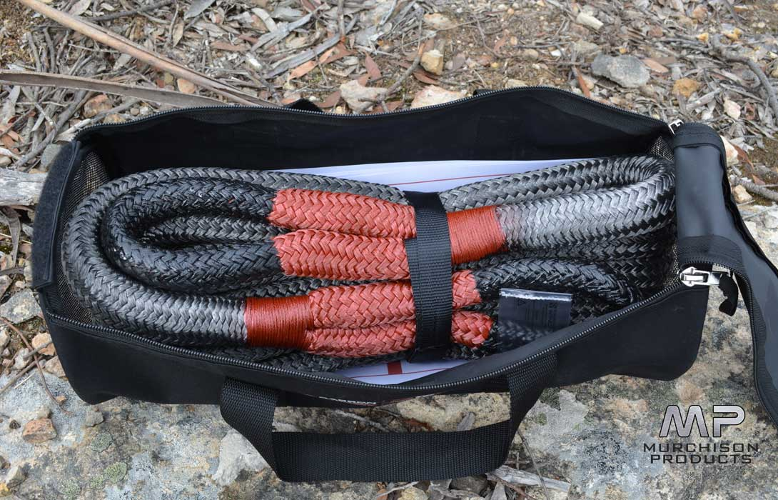 Carbon Offroad 12 Tonne Kinetic Recovery Rope Kit