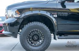 Bushwacker Ram 1500 Max Coverage Pocket Fender Flares - Front Only