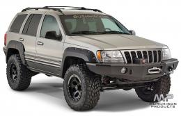 Bushwacker WJ Grand Cherokee Pocket Style Fender Flares