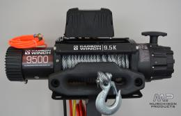 Carbon12K 12000lb Electric Winch with Steel Cable